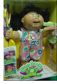 Favorite Deadly Kids Toy: Snacktime Cabbage Patch Doll